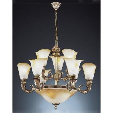 Lámparas Tulipas Cristal de Murano