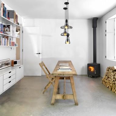 L mparas para dormitorio de ni o de madera hechas a mano - Lamparas de techo habitacion ...
