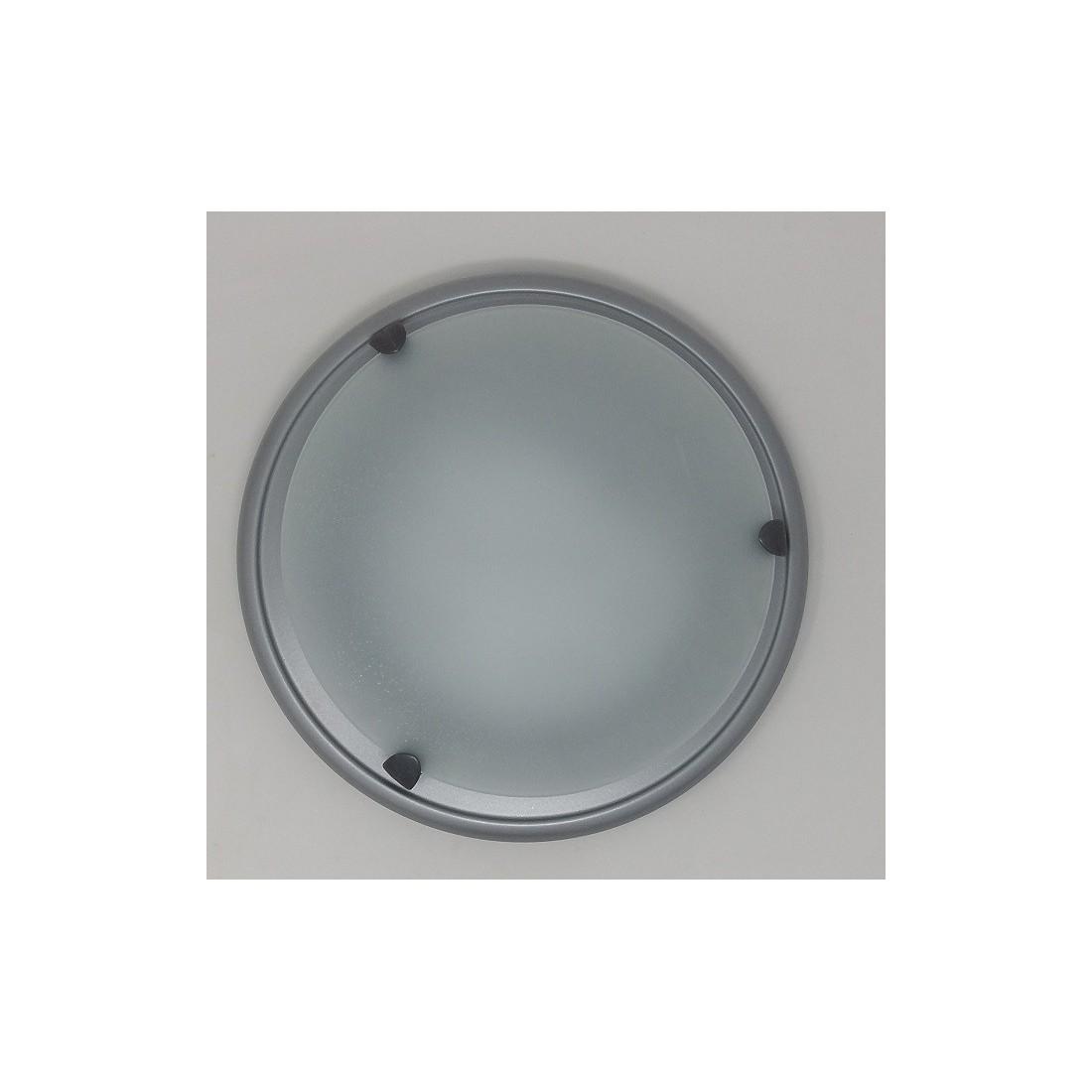 L mpara pantalla blanca y gris compra online o por tel fono - Pantalla lampara techo ...
