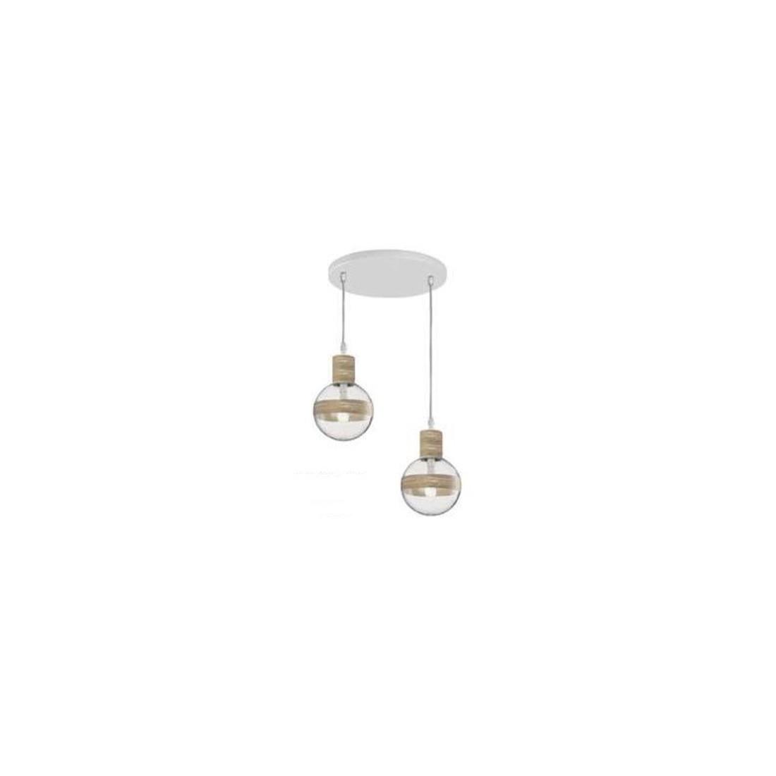 L mpara de techo con bolas redondas de cristalitos para - Ofertas de lamparas de techo ...