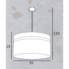 Lámpara con Forma de Bombilla