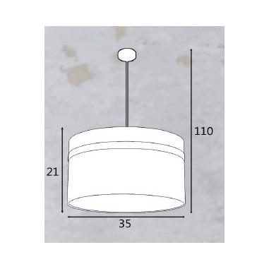 Lámpara con forma de Bombilla para Dormitorios juveniles. Ofertas