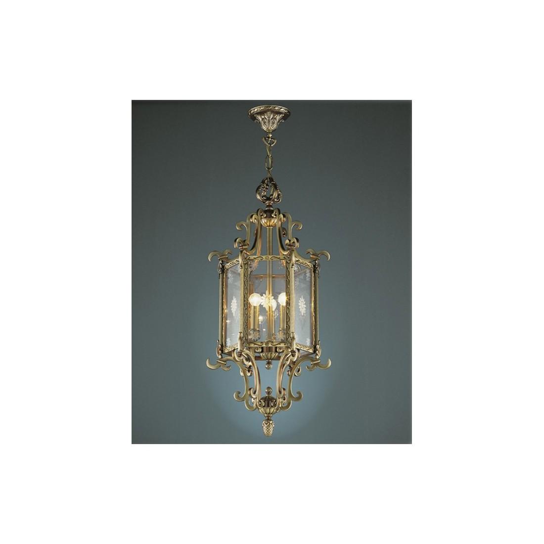 Semiplaf n tulipa de cristal pintada env o r pido - Lamparas para techos bajos ...