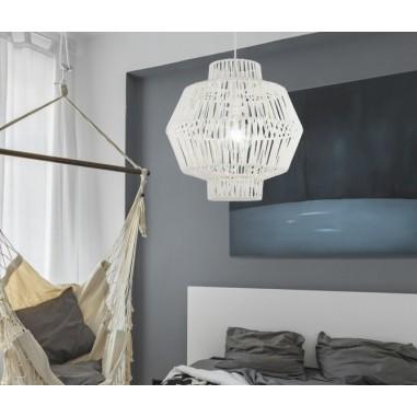 Compra l mpara blanca para decorar dormitorios de ni os - Ventiladores de techo para ninos ...