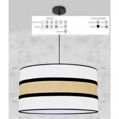 Lámpara Marrón Topo
