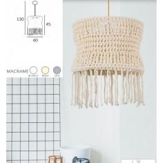 Lámparas Suspendidas Blancas Rectangulares
