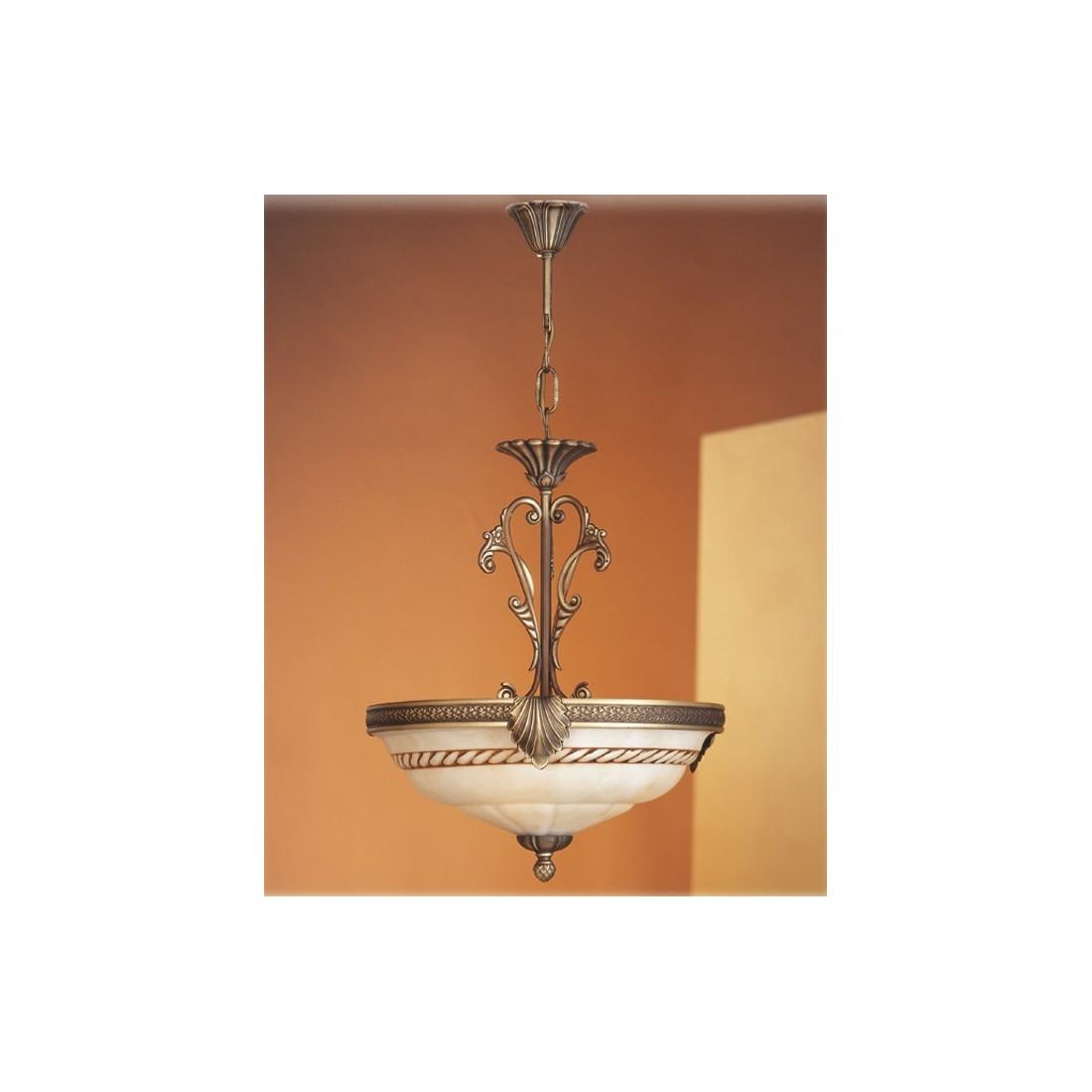Plaf n de cristal con tulipa cortina env o r pido y seguro for Plafones clasicos