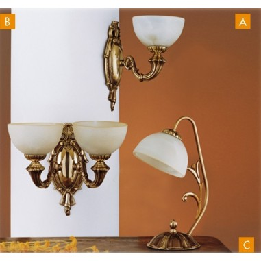 Lámparas Artesanales Bronce