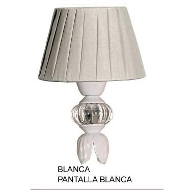 Lámparas Mesita Nácar