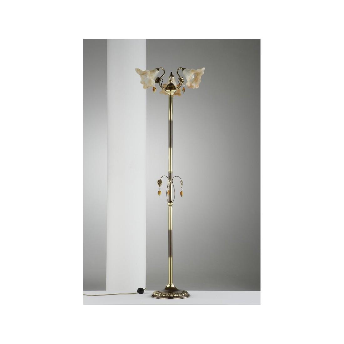 L mpara de techo semiplaf n de bronce 1 tulipa alabastro genil beige 40 cm 4 luces bombillas - Lamparas clasicas de techo ...