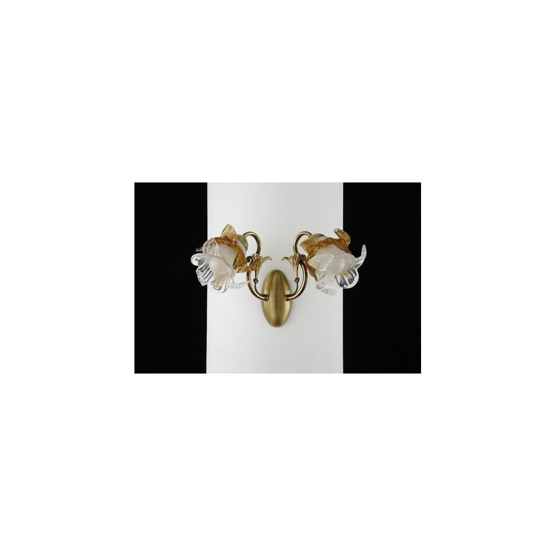 L mpara de bronce de 9 luces fabricada en espa a - Lamparas clasicas de techo ...