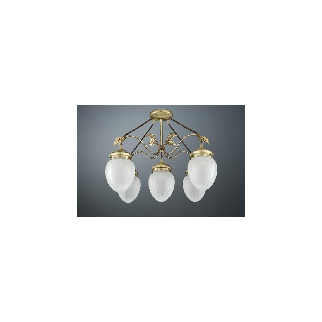 Luminarias de colgar de bronce con 3 brazos env o r pido y seguro - Lamparas clasicas de techo ...