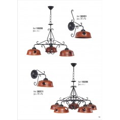 Lamparas clasicas lamparas de bronce lamparas de laton for Plafones clasicos