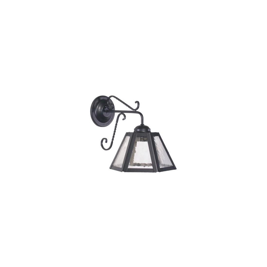 Farol octogonal cl sico de bronce fabricado en espa a - Lamparas techos altos ...