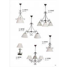 Lámparas de Forja Baratas