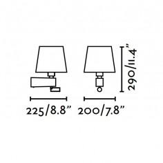 Lámparas de Pared con Velas