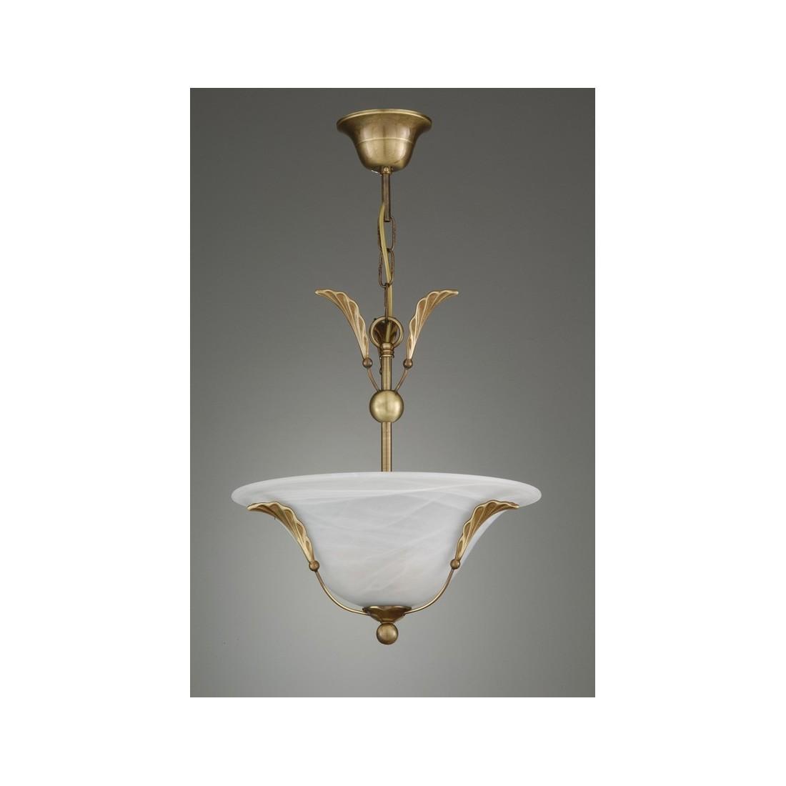 L mpara de bronce con 4 tulipas distribuidores oficiales - Tulipas de lamparas ...