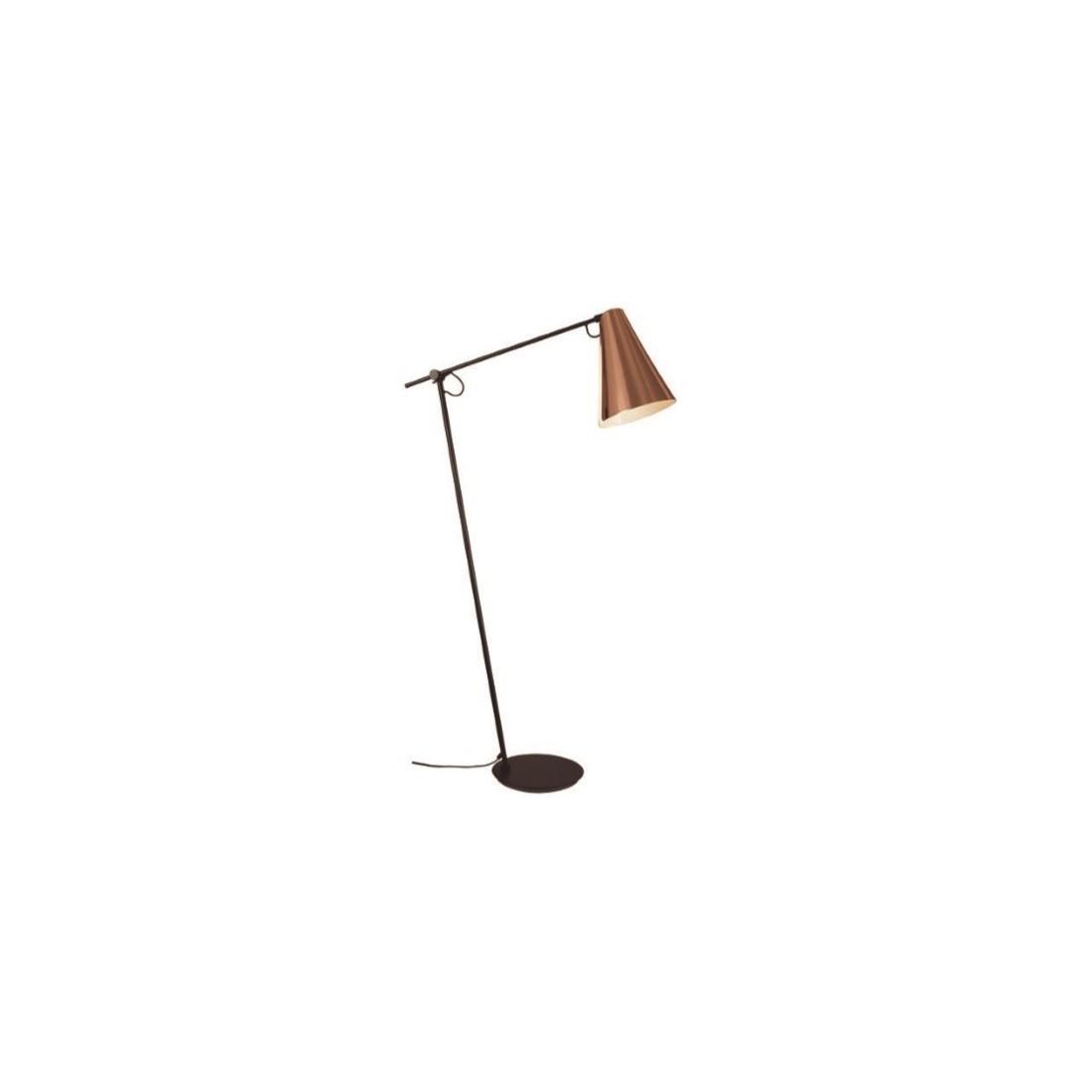 Iluminaci n de pie de sal n de acero con pantalla de tela - Lamparas de pie clasicas ...