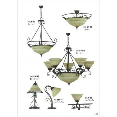 Lámparas Rústicas con Tejas