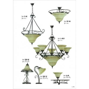 Catálogo Iluminación Rústica