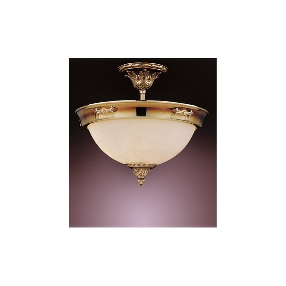 Aplique de pared con tulipa de alabastro jade for Apliques de bronce para muebles