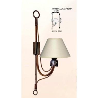 Lámparas Rústicas con Cerámica