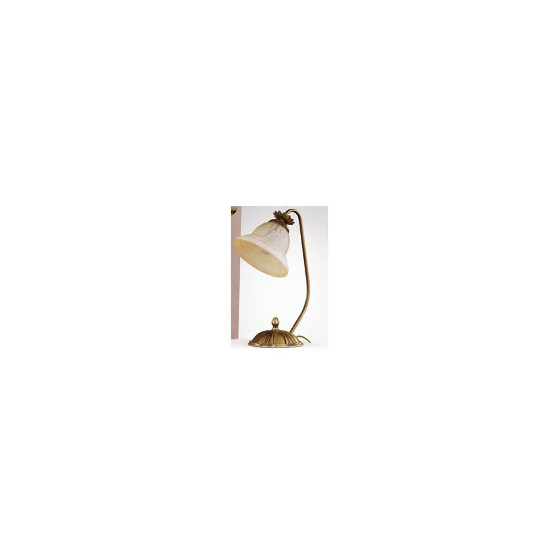 Luminaria de pared de bronce con 1 tulipa de cristal for Apliques de bronce para muebles