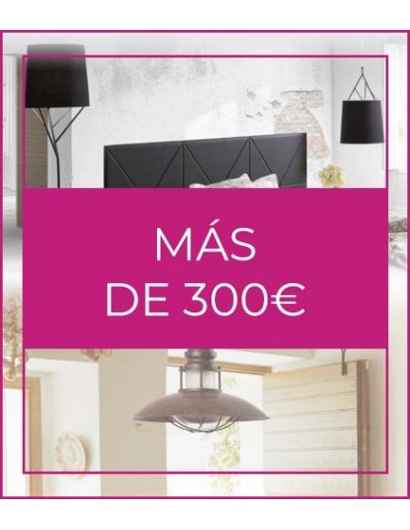 Más de 300€