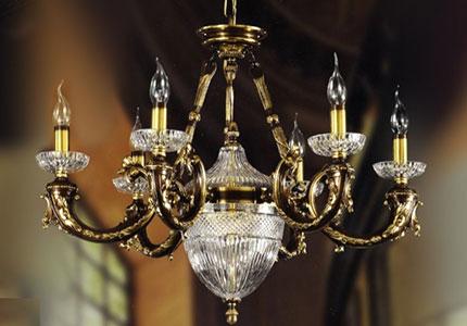 Lámparas estilo clásico