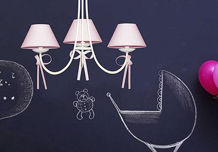 Lámparas estilo infantil