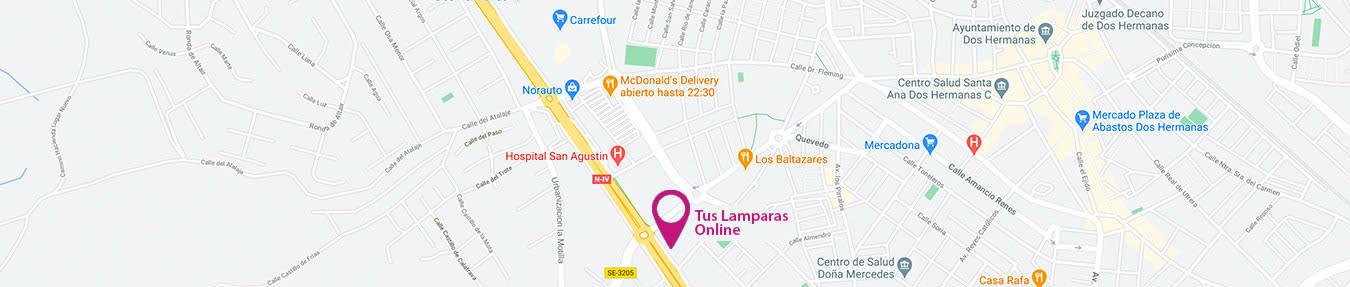 Situación de Tus Lámparas Online